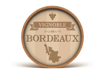 Tonneau Vignoble de Bordeaux