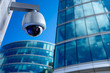 Security CCTV camera in office building - 76992626