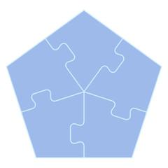 五角形のパズル