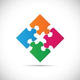 Puzzle Illustration - 76994610