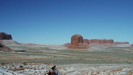 Monument Valley Colorado Plateau Navajo Tribal Park desert Buttes, Arizona, USA