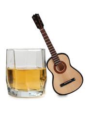 Whiskey whit guitar