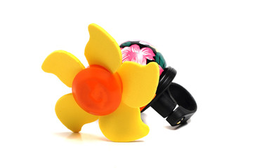interesting bicycle bell in the form of the sun