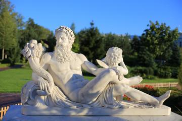 Antique style sculptures