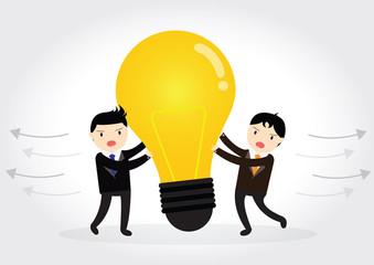 Businessman VS Businessman Plagiarism