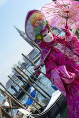Maschera giapponese di carnevale #3