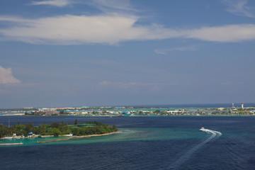 Aeroporto delle Maldive.