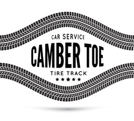 Camber and toe-car service