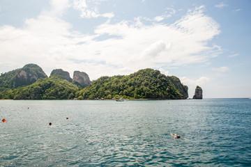 View of Maya Bay, Phi Phi island, Thailand, Phuket