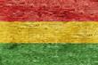 canvas print picture - Colors of reggae music