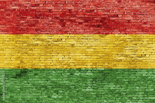canvas print picture Colors of reggae music