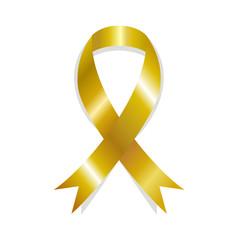 Golden awareness ribbon, childhood cancer