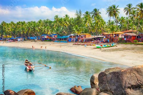 India, Goa, Palolem beach - 77002615