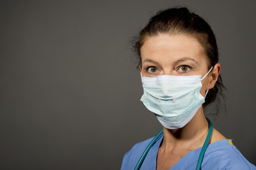 Doctor/Nurse With Surgical Mask
