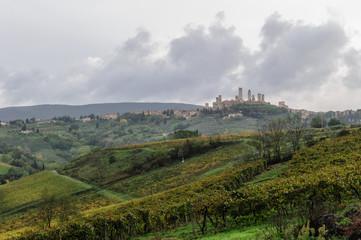 San Giminiano, panorama 5