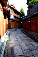 京町家の路地