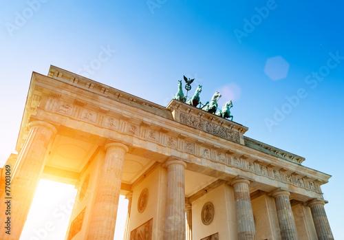 Foto Spatwand Berlijn Brandenburger Tor