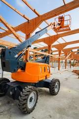 Neubau eines Rinderstalles, Hublift und Holzbinderkonsstruktion