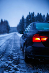 Winter Ice Road