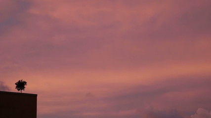 Sky before storm timelapse