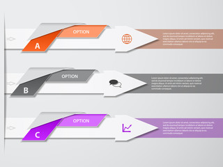 Infographic design template. File is eps10