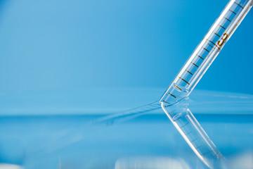 chimica, contagocce, laboratorio
