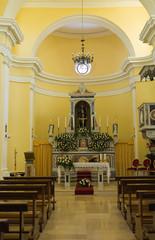 Church of St. Francesco. Viggianello. Basilicata. Italy.