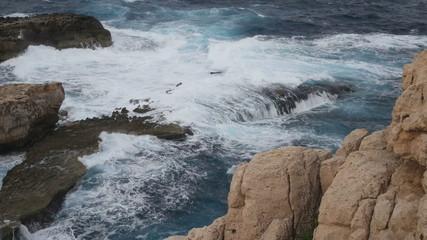 Sea and Rocks Landscape