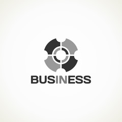in business monochrome