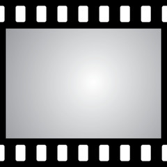vector film strip with space for your text or image