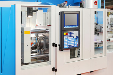 Automated lathe machine