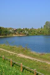 Ile de France, Gallardon pond in Vernouillet
