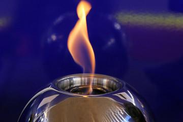 Lamp flame