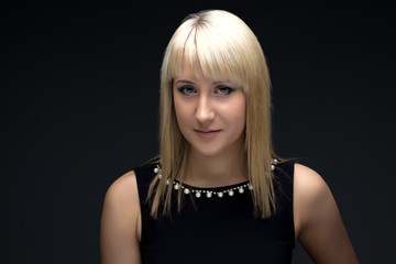 Image of young blond woman