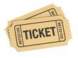Leinwandbild Motiv Admission Ticket