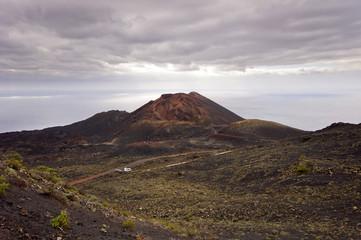Volcano Teneguia in Fuencaliente - Los Canarios Volcanic Landsca