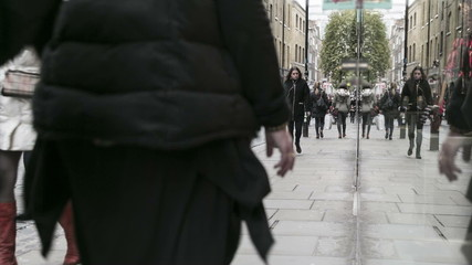 Covent Garden shopping time lapse
