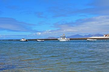 Coast in northem of Fuerteventura, Canary Island,Spain