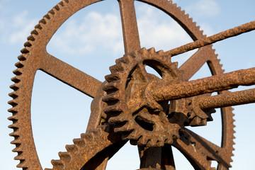 Rusty Cog Wheels
