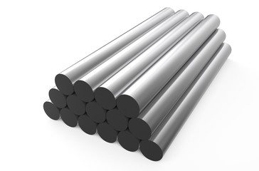 rolled metal, rounds 1