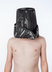 Man with the trash bag