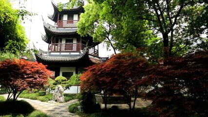 Shanghai Wen Miao Confucian Temple Historic Shanghai China
