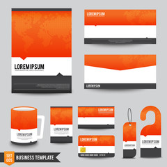 Brochure background template 005