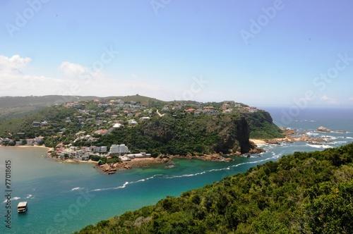 Aluminium Zuid Afrika Küste von Knysna - Südafrika