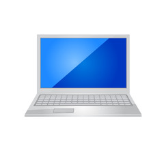 Lap top icon. Vector