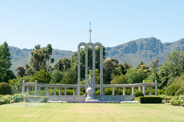 Huguenot monument in Franschoek