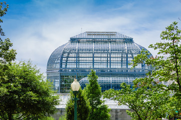 Green house  of the National Botanic Garden