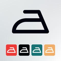 Ironing symbol.