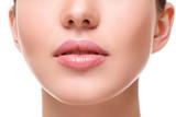 Beautiful pink lips
