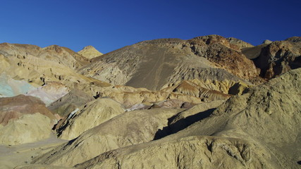 Motion Death Valley Artists Point desert rock National Park California, USA